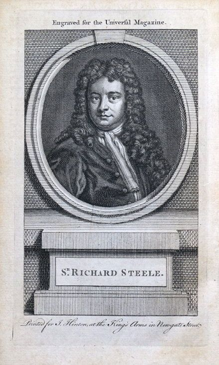 richard steele as an essayist Addison and steele q-the periodical essay  to a great extent, the periodical essayist assumed the office of the clergyman and taught the masses the lesson of elegance and refinement, though not of  (1672-1719) and richard steele (1672-1729) are the founders of the modern english essay as well as modern english prose.