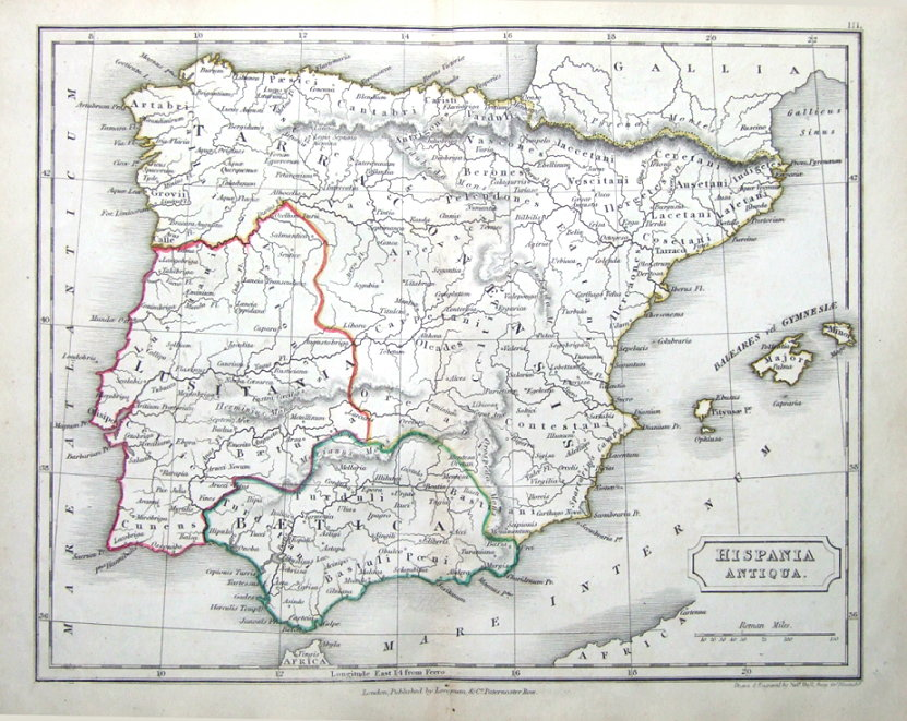 Spain Balearic Islands Hispania Antiqua Original Classical Antique